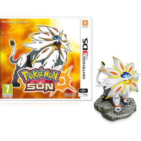 Nintendo Sun pok 233 mon sun solgaleo figurine nintendo uk store