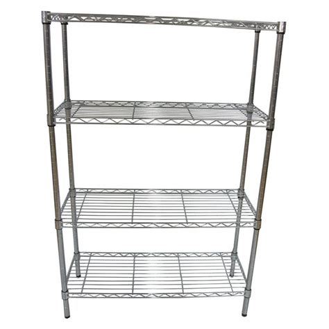 Shelf Units Lowes by Style Selections 4 Shelf Freestanding Shelving Unit Lowe
