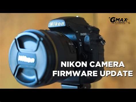 nikon camera firmware  software update