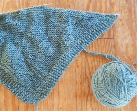 knitting patterns for shawls plain and joyful living a simple knit shawl pattern