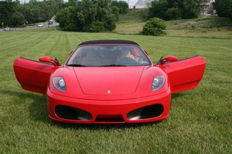 how to learn everything about cars 2006 ferrari 612 scaglietti security system sell used 2006 ferrari f430 spider convertible 2 door 4 3l in norristown pennsylvania united