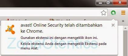 Pasang Anti Virus pasang antivirus pada browser chrome zonaotentics