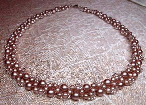 Jewelry Pattern Download | download free pattern for beaded necklace cacao beads magic
