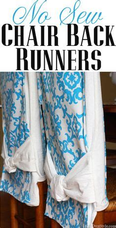 Diy No Sew Dining Room Chair Covers How To Make Slip Covers For Your Dining Room Chairs