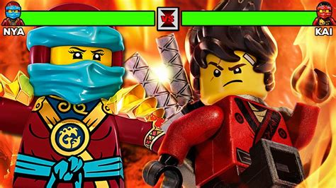 Lego Ninjago Vs lego ninjago vs nya with healthbars