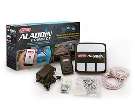 Genie Aladdin Connect 39142r Smart Phone Controller Genie Garage Door Opener Smartphone