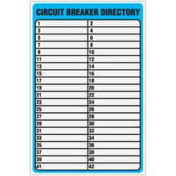 siemens panel schedule template circuit breaker panel schedule template pictures to pin on