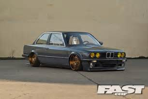 tuned bmw e30 fast car