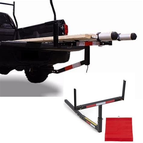 truck bed extender hitch rack a04 pick up truck bed hitch extender extension rack