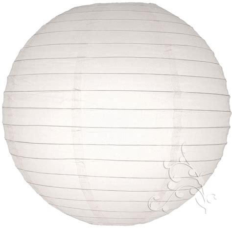Paper Lanterns For - 12 inch white paper lantern