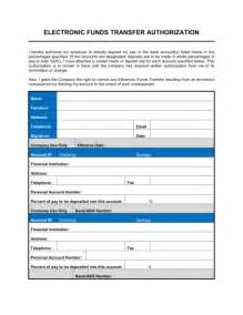 Direct Deposit Form Template by Direct Deposit Enrollment Form Template Sle Form