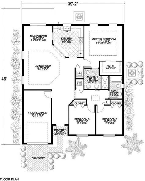 house plans 1 floor 3 bedroom 2 bath coastal house plan alp 016a chatham