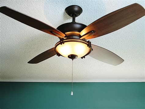 Replacing Light With Ceiling Fan with How To Replace A Light Fixture With A Ceiling Fan How Tos Diy