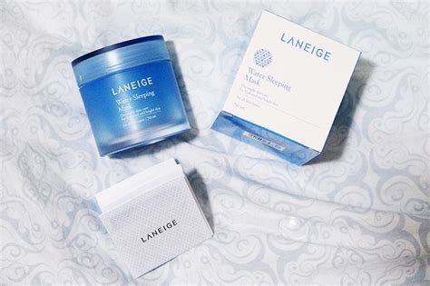 Laneige Water Sleeping Mask Di Counter free laneige great mornings sling kit giveaways