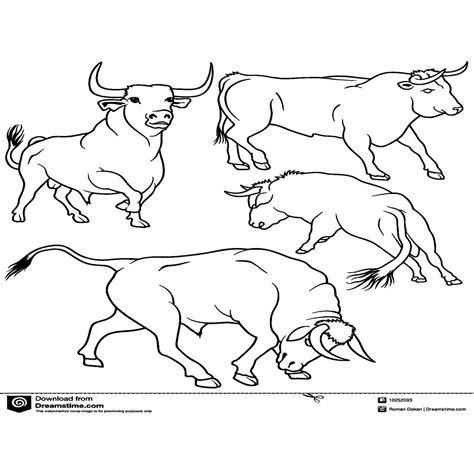 dibujos para colorear y imprimir para ni os dibujos para colorear dibujos de toros para imprimir