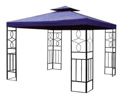 Pavillon 2x3m Metall by 4x3 Pavillon Blau Gartenzelt G 252 Nstig Bestellen