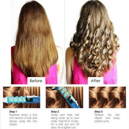 rolling up your hair in curls in preparation for an updo ceramic spiral curling roll perm rod beauty products