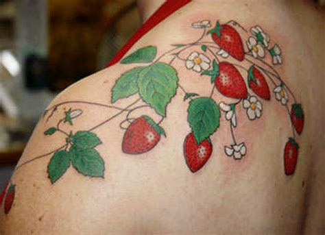strawberry tattoo katy perry 25 yum yum strawberry tattoo designs looking sexy in