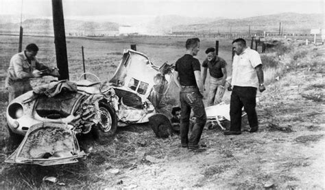 James Dean Porsche Crash by From James Dean To Grace Kelly 9 Iconic Celebrity Car
