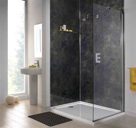 Gray Paneling by A B Building Products Ltd Shower Wall Panels Shower