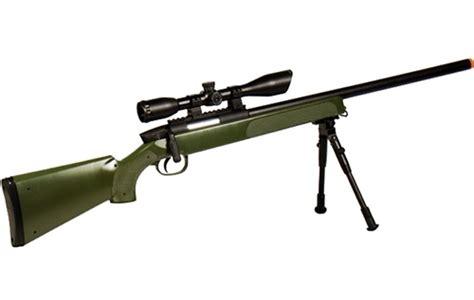 Kaos Airsoft Dual Sniper soft m324sg b utg master sniper airsoft rifle od green bolt