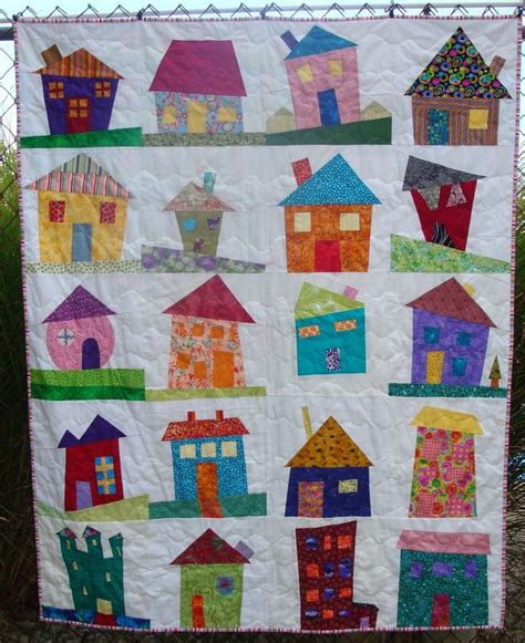 house pattern blocks 36 best images about fabric houses on pinterest quilt