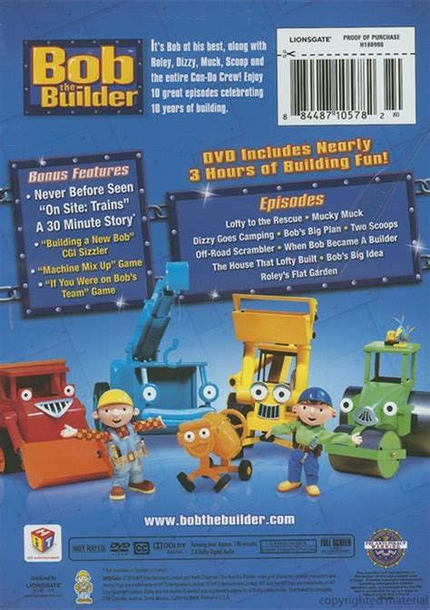 the best of bob bob the builder the best of bob the builder dvd dvd