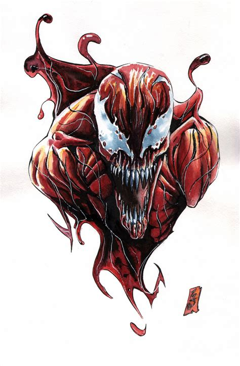 carnage tattoo carnage tat by spaciousinterior on deviantart