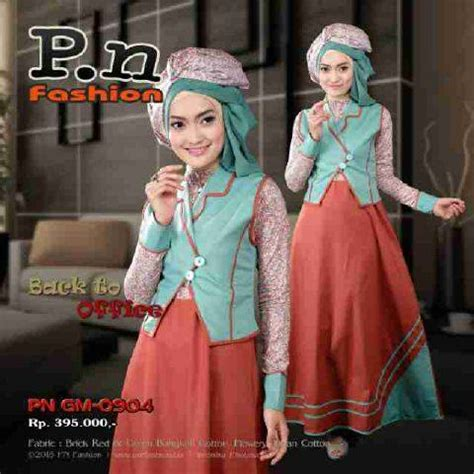 Gamis Katun Sz M by Pn Fashion January Vol 1 Diskon 10 Jual Busana Muslim