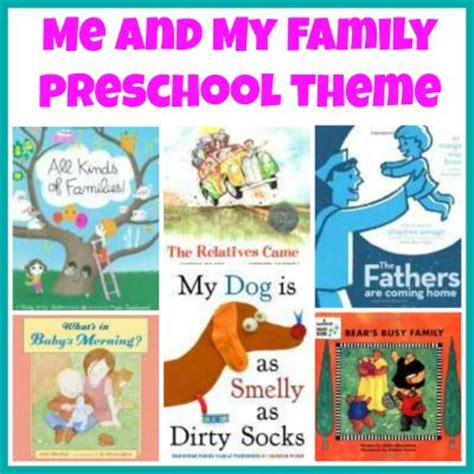 picture books about families my family theme weekly home preschool on