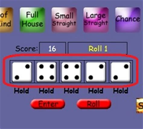Play Yahtzee Online Free Brain Game