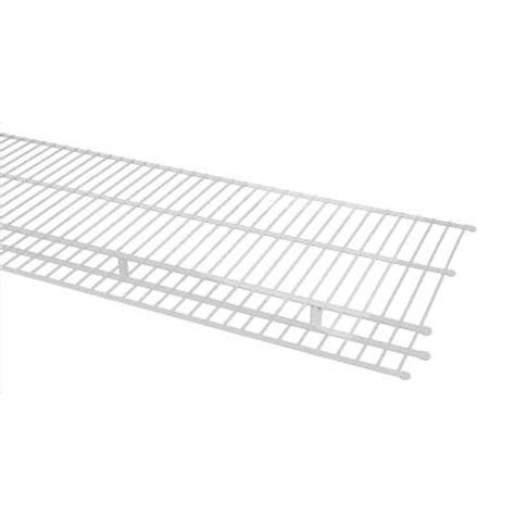 Closetmaid Ventilated Shelving Closetmaid 12 Ft X 16 In Ventilated Wire Shelf And Rod