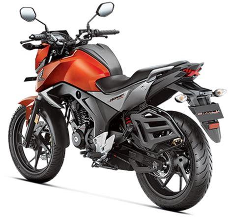 honda hornet forum honda cb hornet 160r launched inr 79 900 bike news