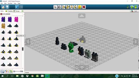 tutorial lego digital designer tutorial usos principales de lego digital designer youtube