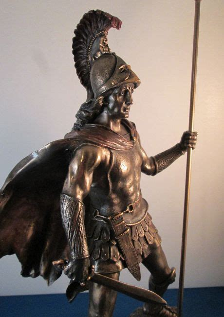 statues of gods roman god of war ares or mars statue greek god ares