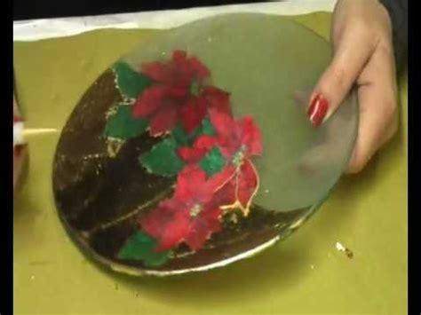 tutorial decoupage natalizio tutorial centrotavola natalizio di arte e creativit 224 di