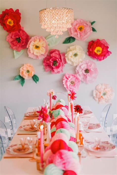 Flower Ideas With Paper - lush fab glam blogazine fabulous summer decor ideas