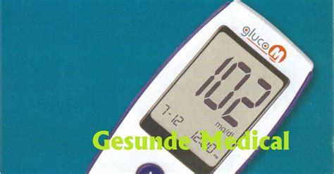 Alat Tes Tensi jual alat test gula darah gluco m toko medis jual alat