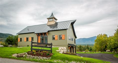 house and barn top notch barn home plans from the ybh design team