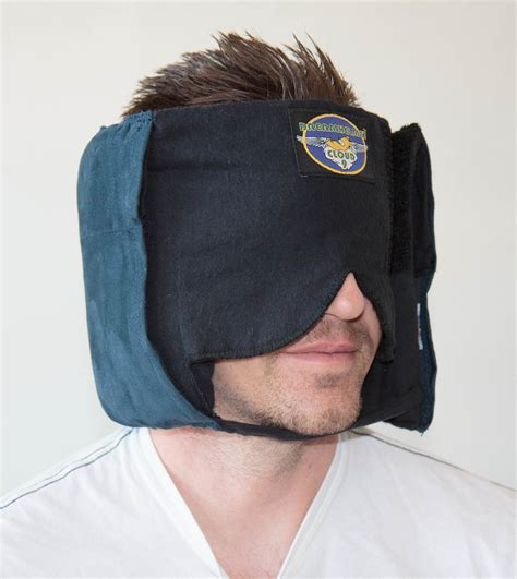 Sleeping Helmet Pillow by How The Dreamhelmet Sleep Mask Became A Notice Board To Solve An Air Travelers Dilemma