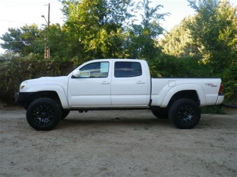 toyota tacoma long bed for sale sell used 2008 toyota tacoma sr5 trd sport long bed crew