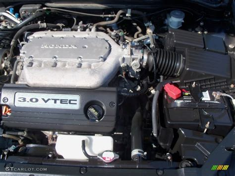 2003 Honda Accord Engine by 2003 Honda Accord Ex V6 Sedan 3 0 Liter Sohc 24 Valve Vtec