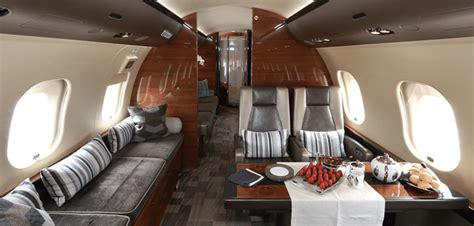 Global 6000 Interior by Bombardier Global 6000 Heavy Jet Charter
