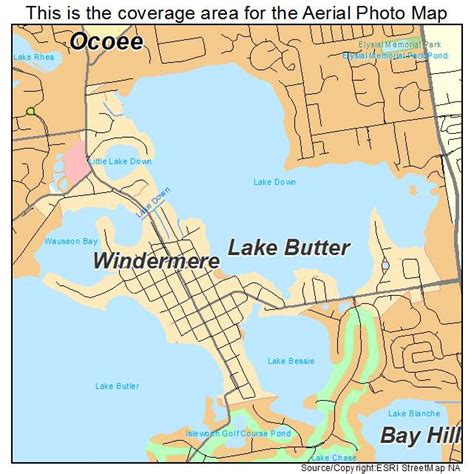 where is windermere florida on a map aerial photography map of windermere fl florida