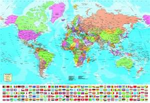 map puzzles us and world jigsaw puzzles 1500 pieces quot the world map quot educa ebay