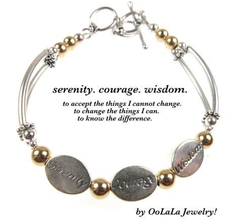 serenity prayer beaded bracelet serenity prayer bracelet serenity courage wisdom serenity