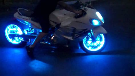 Motorcycle Trick Led Lights By All Things Chrome Youtube Led Lights For Motorcycles