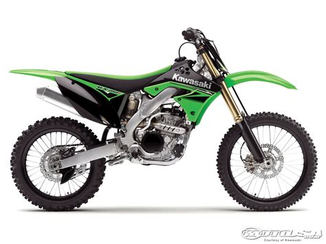 250 motocross bikes 2010 kawasaki kx250f and kx450f look motorcycle usa