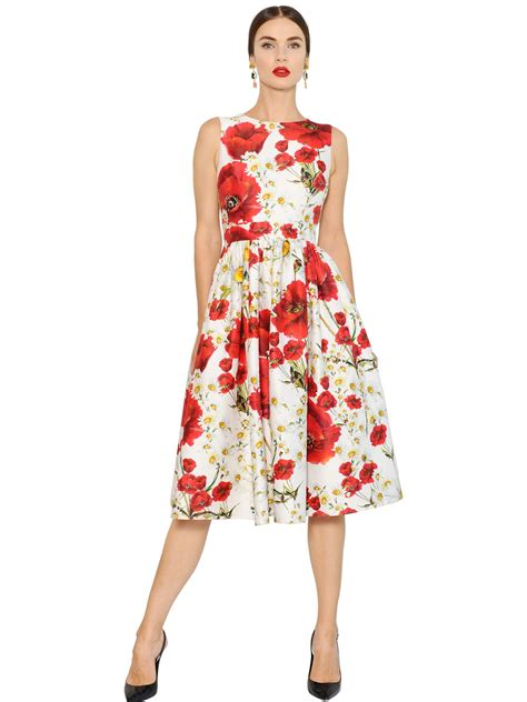 Dres Gabbana Dolce dolce and gabbana floral print dress
