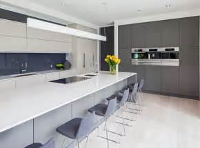 White And Grey Kitchen Designs 20 Astounding Grey Kitchen Designs Home Design Lover